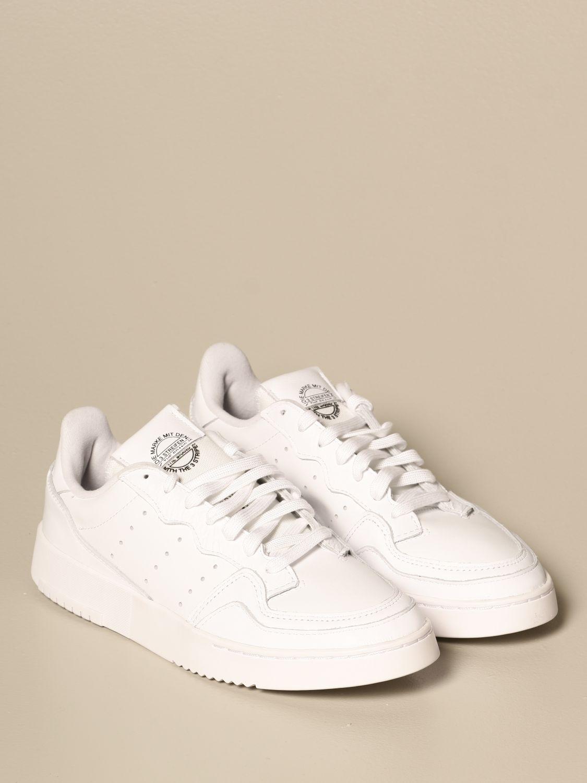 Sneakers Adidas Originals: Sneakers supercourt adidas originals in pelle bianco 2