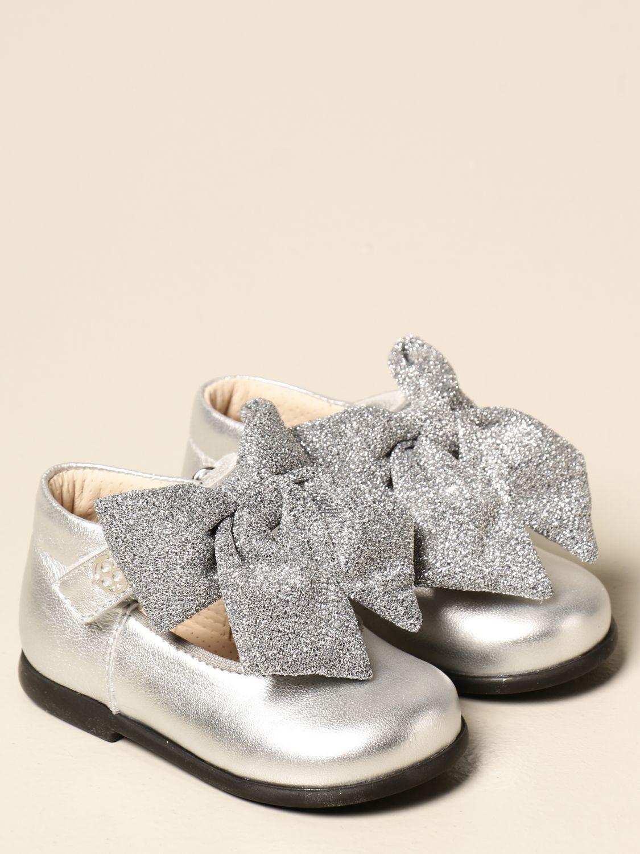 Scarpe Florens: Scarpe bambino Florens argento 2