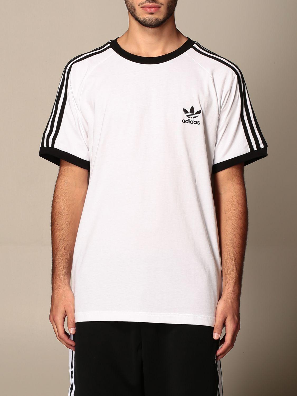 T-shirt Adidas Originals: T-shirt homme Adidas Originals blanc 1