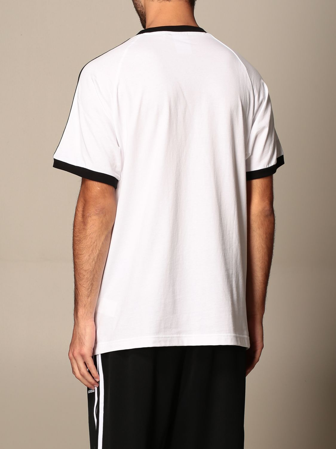 T-shirt Adidas Originals: T-shirt men Adidas Originals white 3