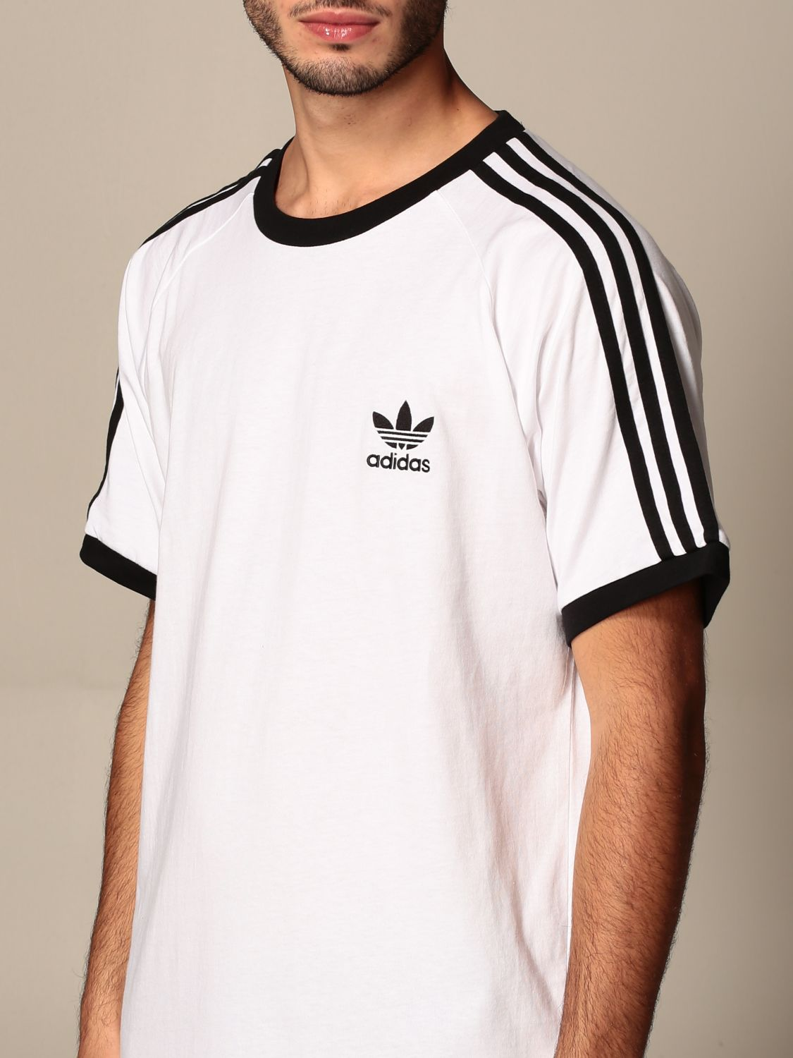 T-shirt Adidas Originals: T-shirt men Adidas Originals white 4