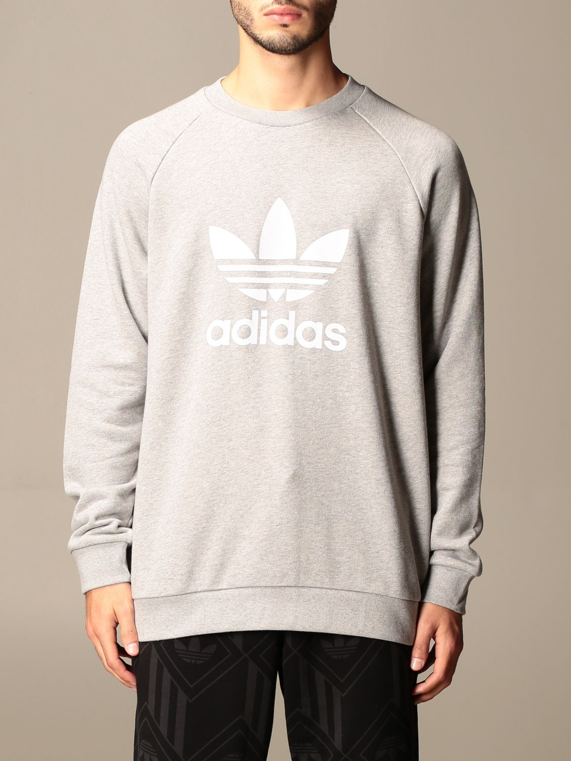 Sweatshirt Adidas Originals: Sweatshirt men Adidas Originals grey 1