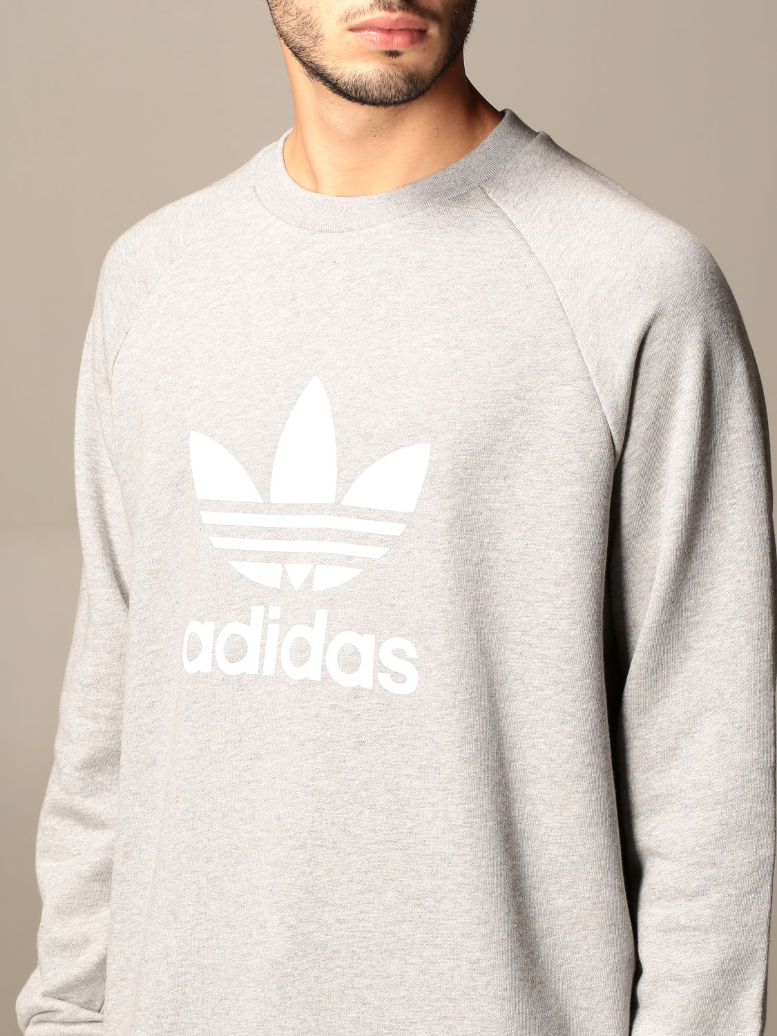Sweatshirt Adidas Originals: Sweatshirt men Adidas Originals grey 4