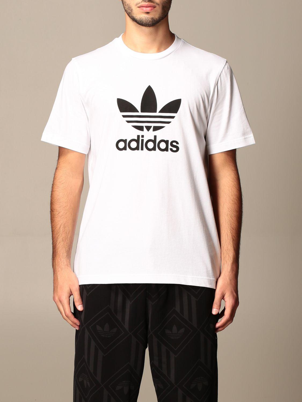 Футболка Adidas Originals: Футболка Мужское Adidas Originals белый 1