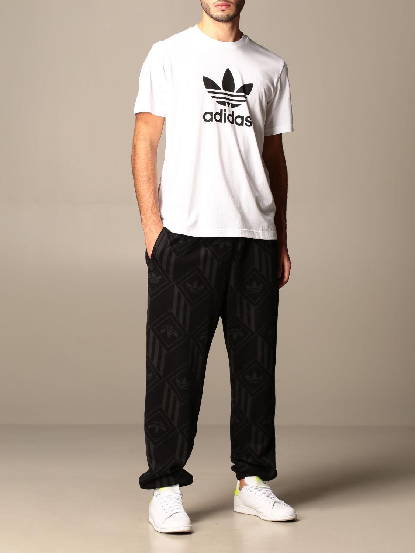 Футболка Adidas Originals: Футболка Мужское Adidas Originals белый 2
