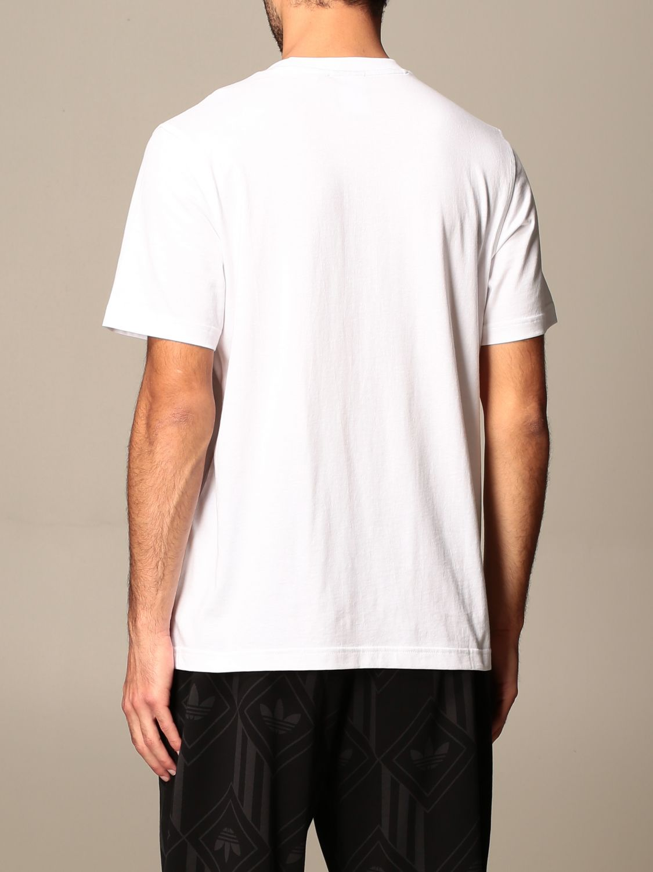 Футболка Adidas Originals: Футболка Мужское Adidas Originals белый 3