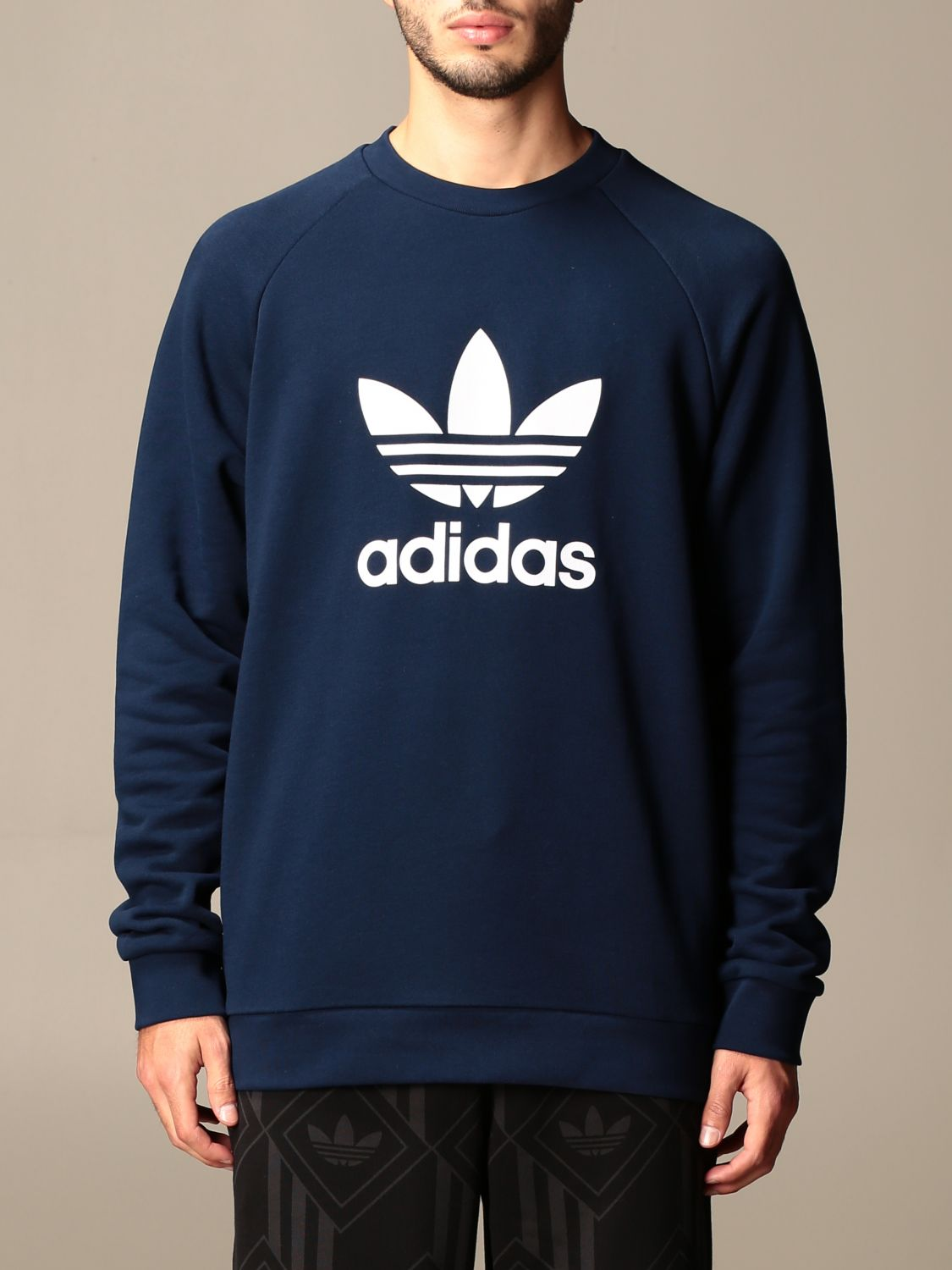 Sweatshirt Adidas Originals: Sweatshirt men Adidas Originals navy 1