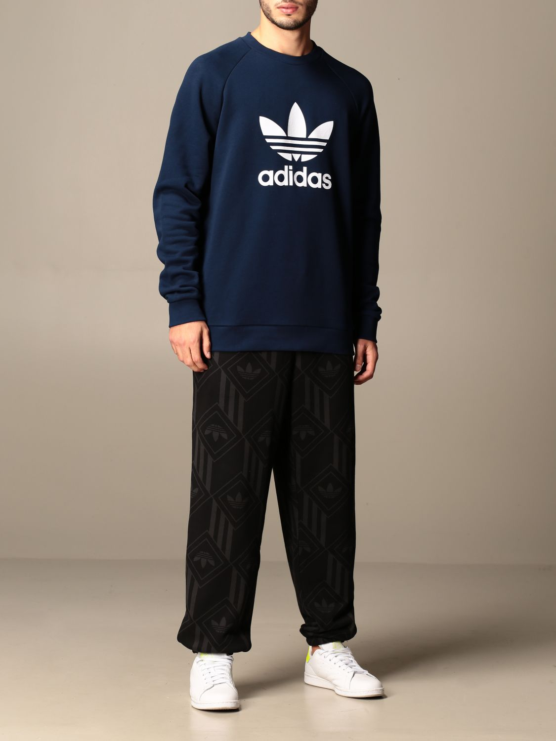 Sweatshirt Adidas Originals: Sweatshirt men Adidas Originals navy 2