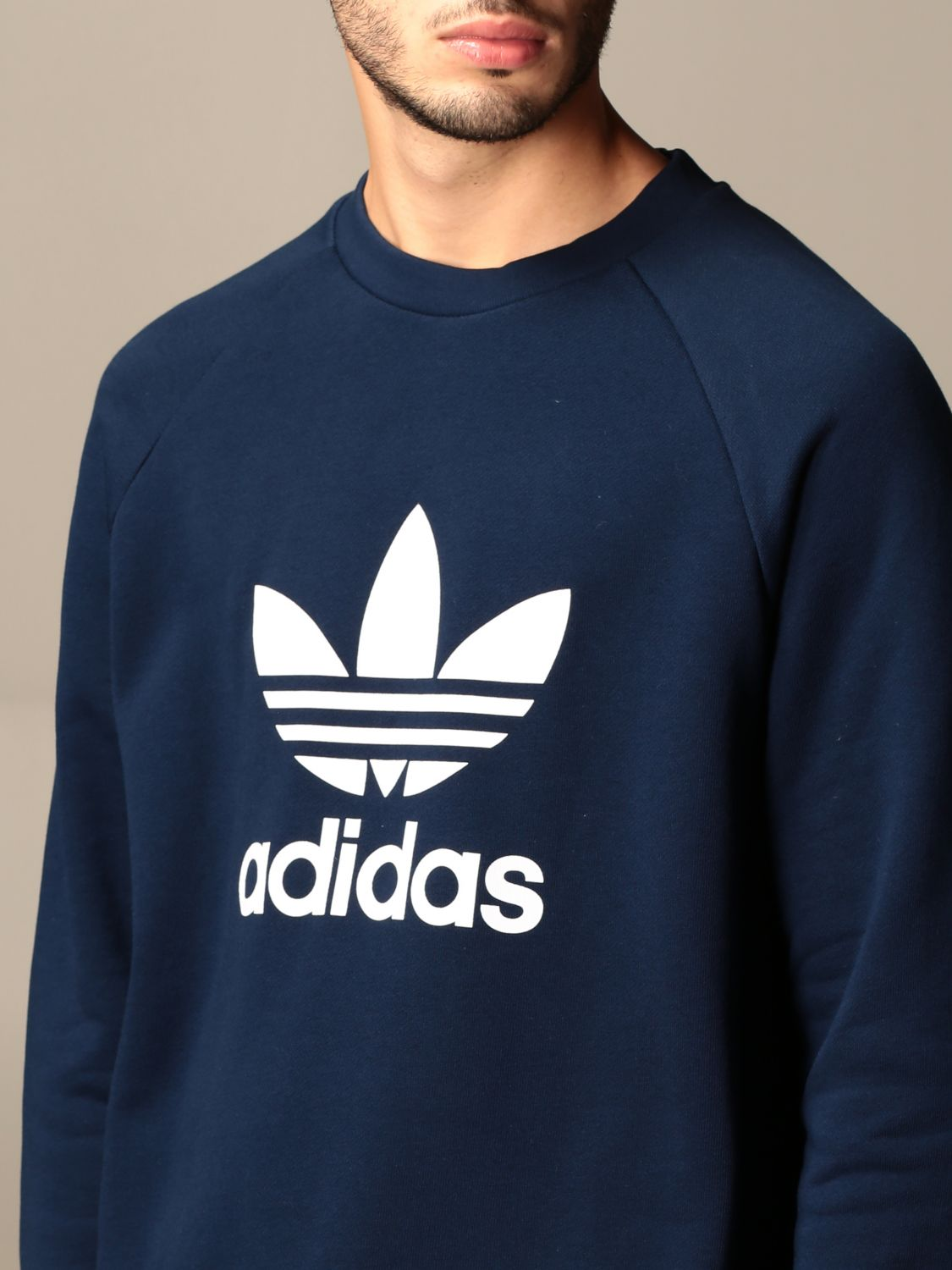 Sweatshirt Adidas Originals: Sweatshirt men Adidas Originals navy 4