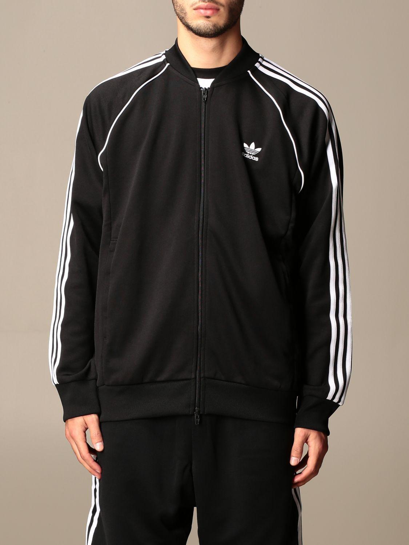 Sweatshirt Adidas Originals: Sweatshirt homme Adidas Originals noir 1