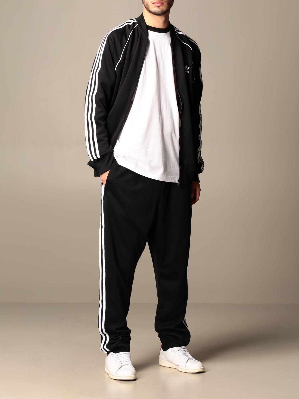 Sweatshirt Adidas Originals: Sweatshirt homme Adidas Originals noir 2