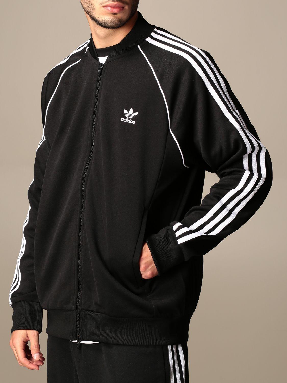 Sweatshirt Adidas Originals: Sweatshirt homme Adidas Originals noir 4