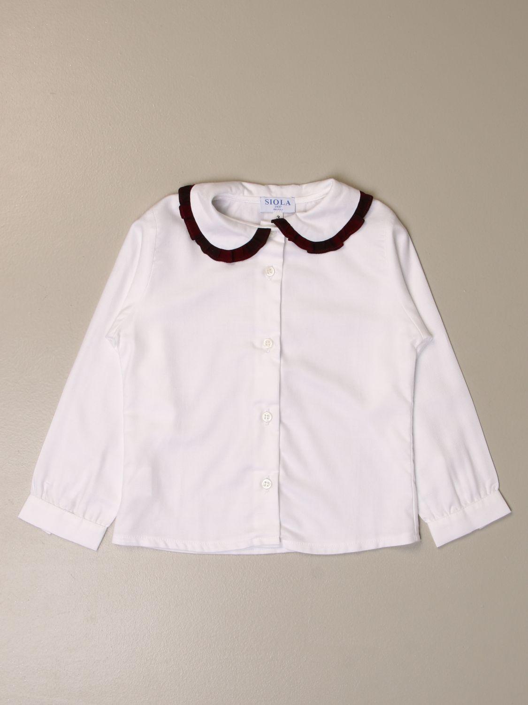 衬衫 Siola: 衬衫 儿童 Siola 白色 1 1