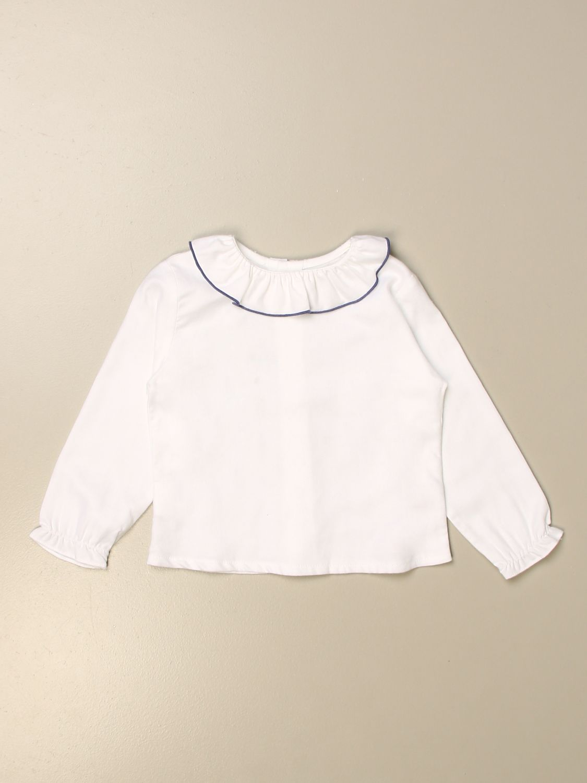 Shirt Siola: Shirt kids Siola white 1