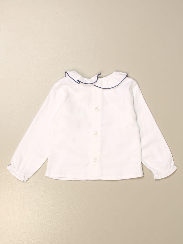 Shirt Siola: Shirt kids Siola white 2