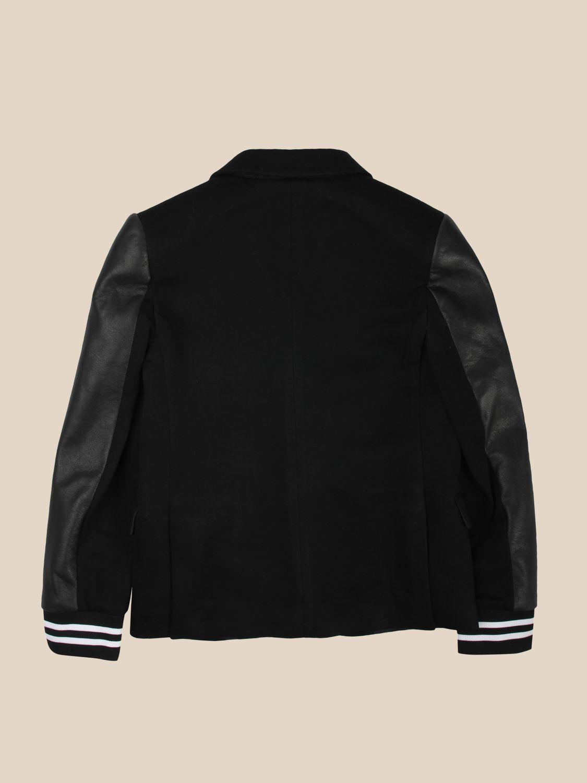 Jacket Neil Barrett: Jacket kids Neil Barrett black 2
