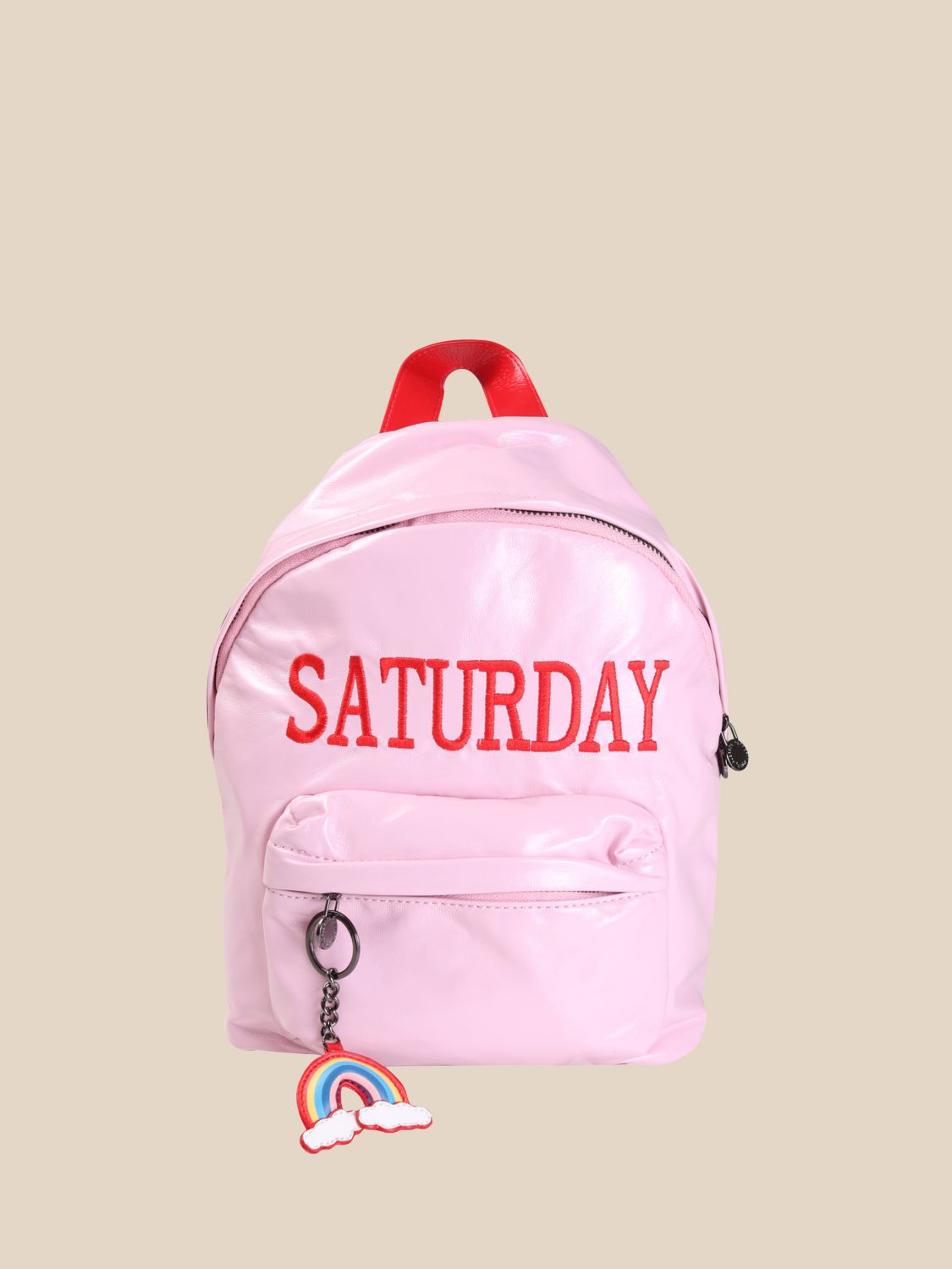 Duffel Bag Alberta Ferretti Junior: Alberta Ferretti Junior backpack with day of the week pink 1