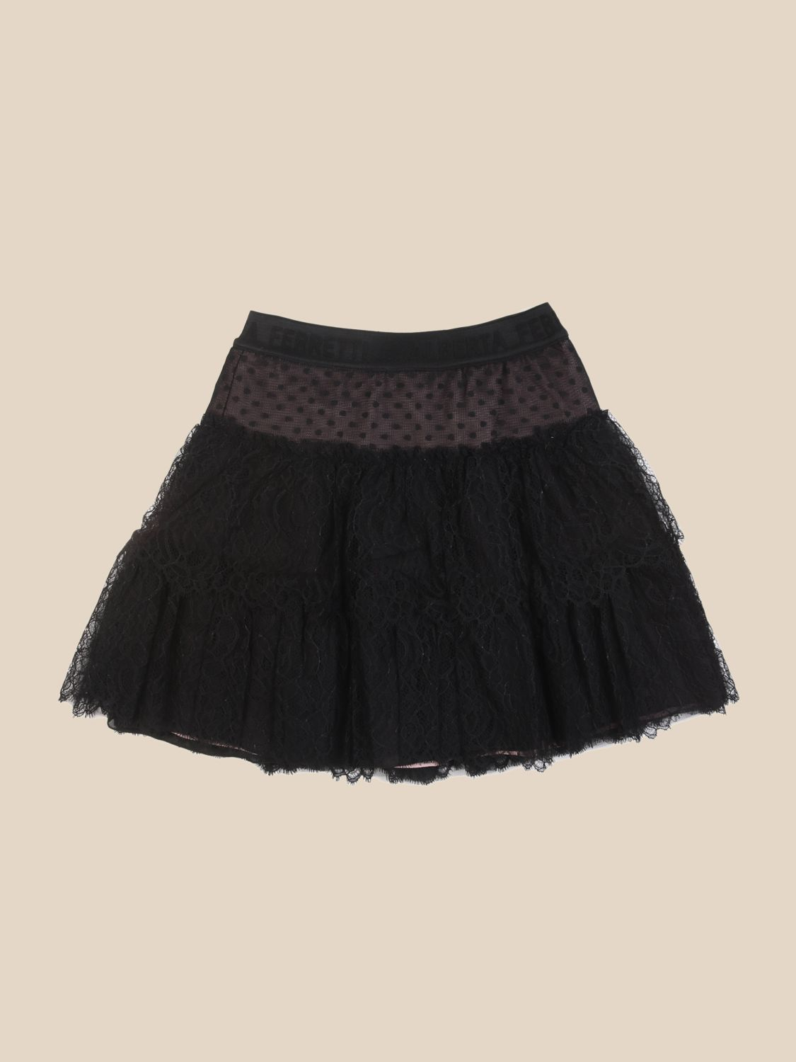 Skirt Alberta Ferretti Junior: Skirt kids Alberta Ferretti Junior black 1