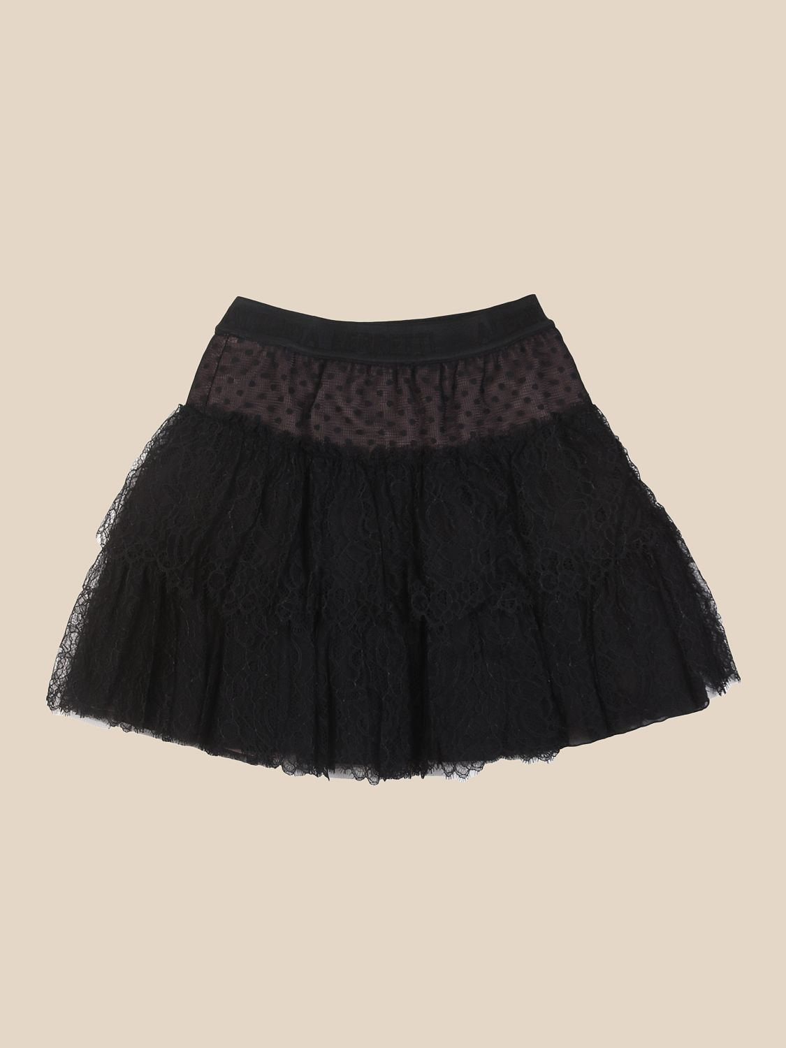 Skirt Alberta Ferretti Junior: Skirt kids Alberta Ferretti Junior black 2