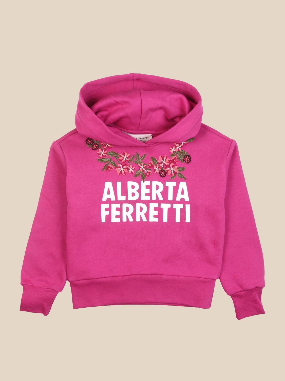 Jumper Alberta Ferretti Junior: Jumper kids Alberta Ferretti Junior raspberry 1
