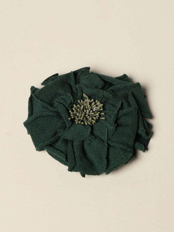 Broches Maliparmi: Broches mujer Maliparmi verde 1