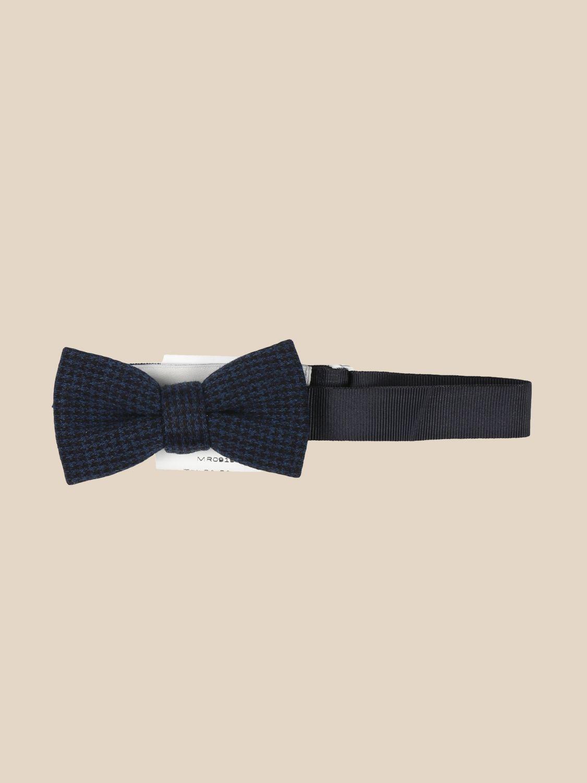 Bow tie Manuel Ritz: Manuel Ritz micro patterned bow tie blue 1