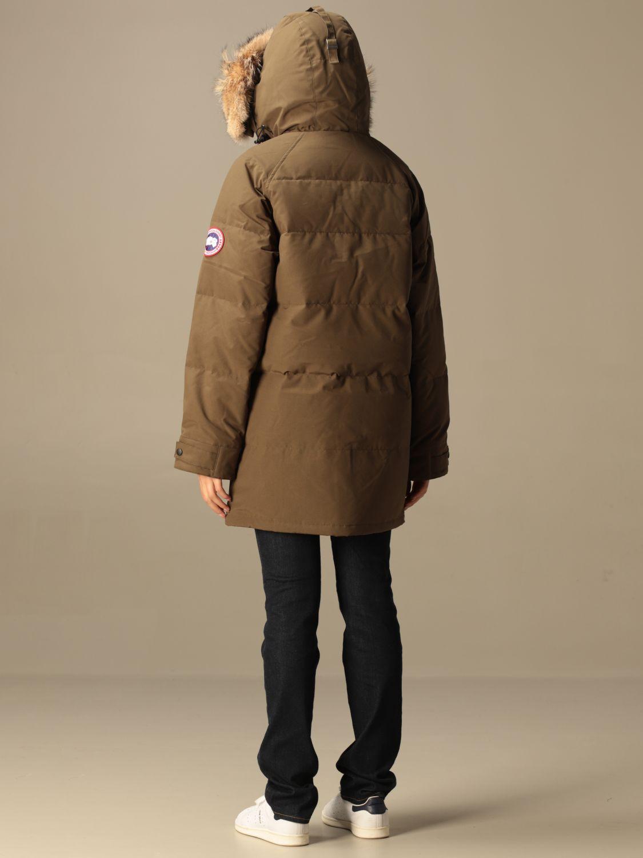 Куртка Canada Goose: Куртка Женское Canada Goose милитари 2