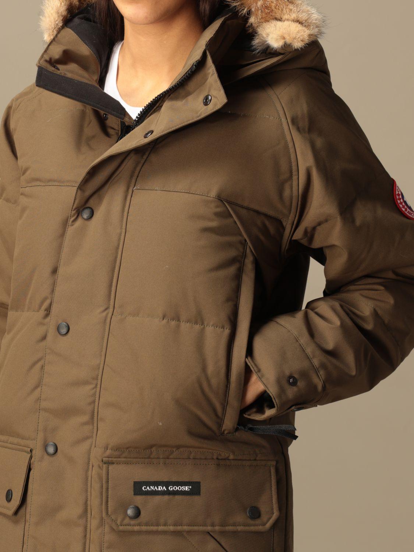 Куртка Canada Goose: Куртка Женское Canada Goose милитари 3