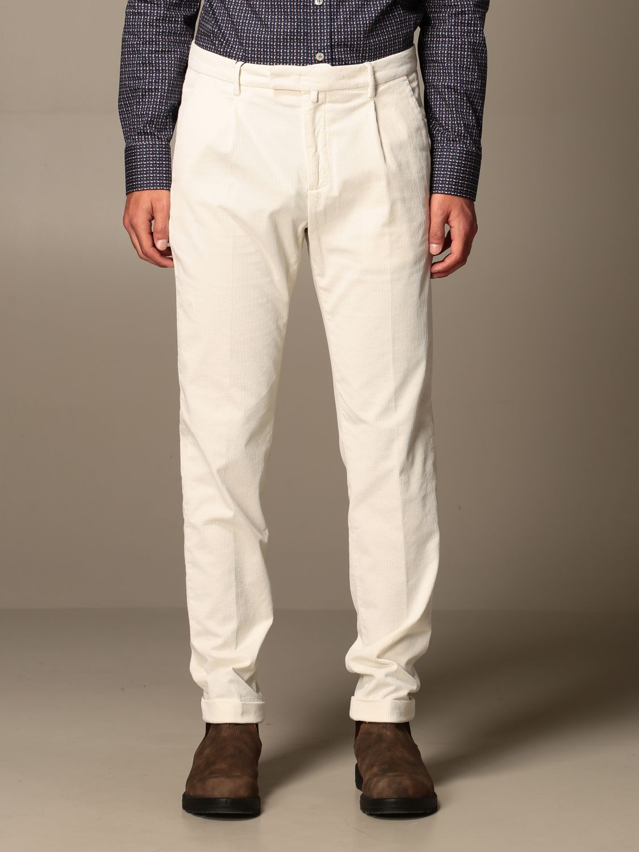 Pantalone Briglia: Pantalone a costine Briglia panna 1