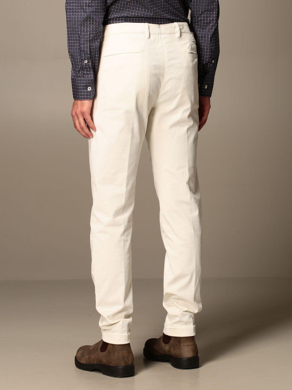 Pantalone Briglia: Pantalone a costine Briglia panna 2