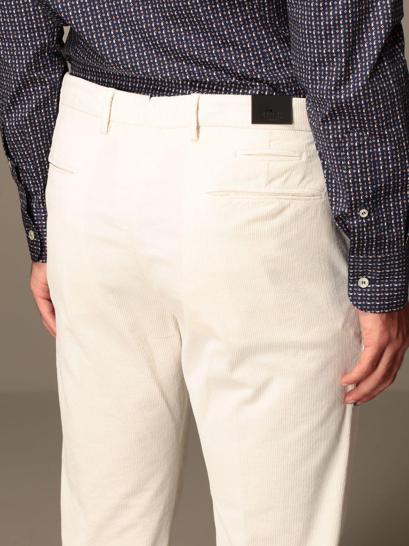 Pantalone Briglia: Pantalone a costine Briglia panna 3