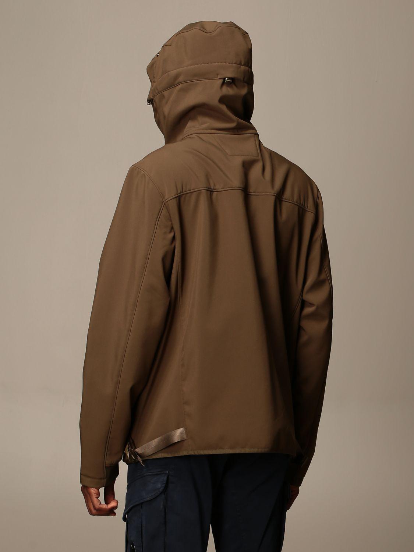 Jacket C.p. Company: Jacket C.p. Company in nylon with hood green 2