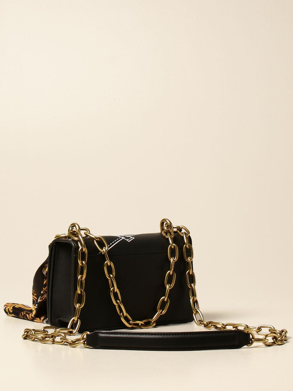 Versace BANDOLIER JEANS COUTURE E1VVBBM7 SAC /à BANDOULI/èRE NOIR FEMME