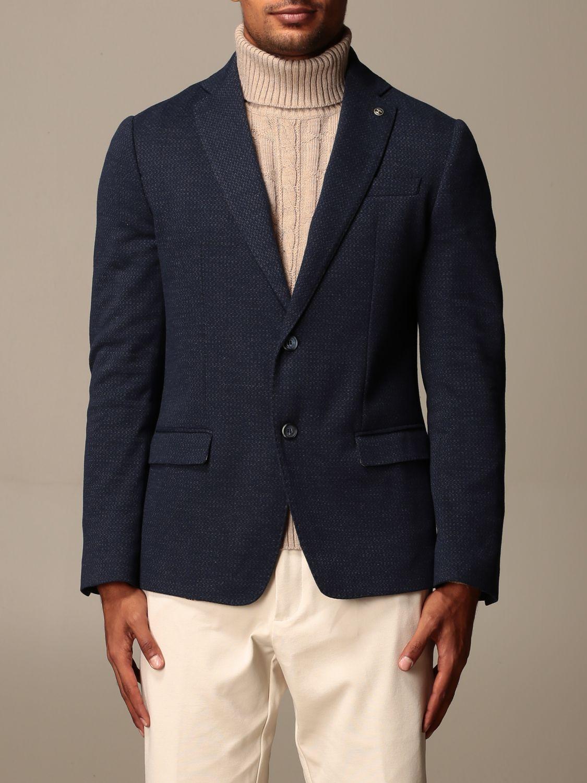 Blazer Havana & Co.: Giacca Havana & Co. in misto cotone blue 1