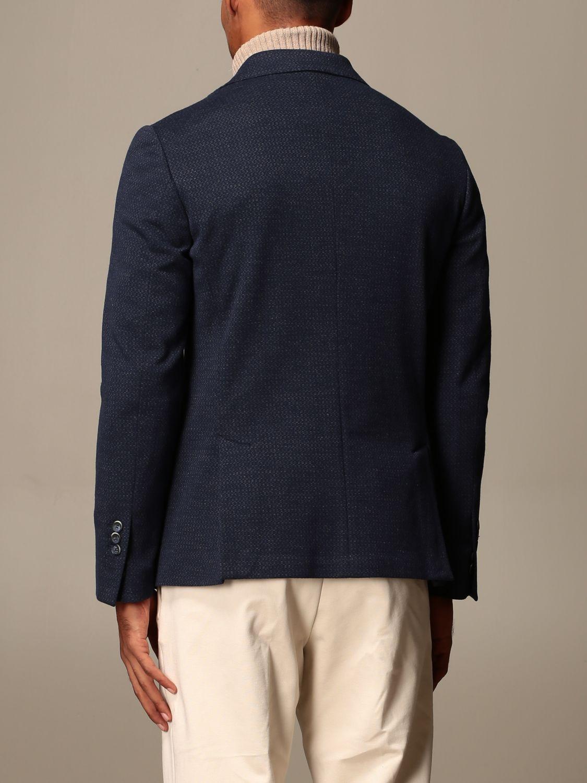 Blazer Havana & Co.: Giacca Havana & Co. in misto cotone blue 3