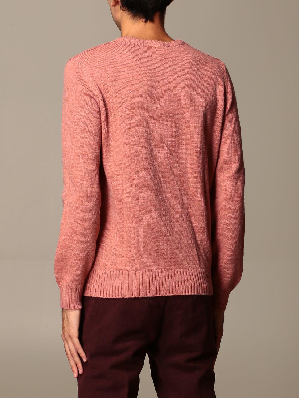 Maglia Havana & Co.: Maglia a girocollo Havana & Co. in misto lana rosa 2