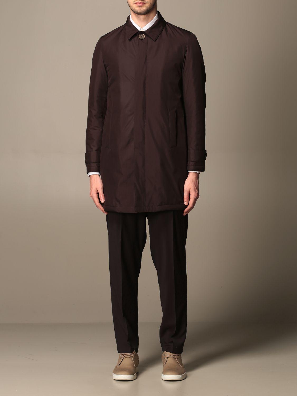 Cappotto Havana & Co.: Cappotto di nylon Havana & Co. marrone 1