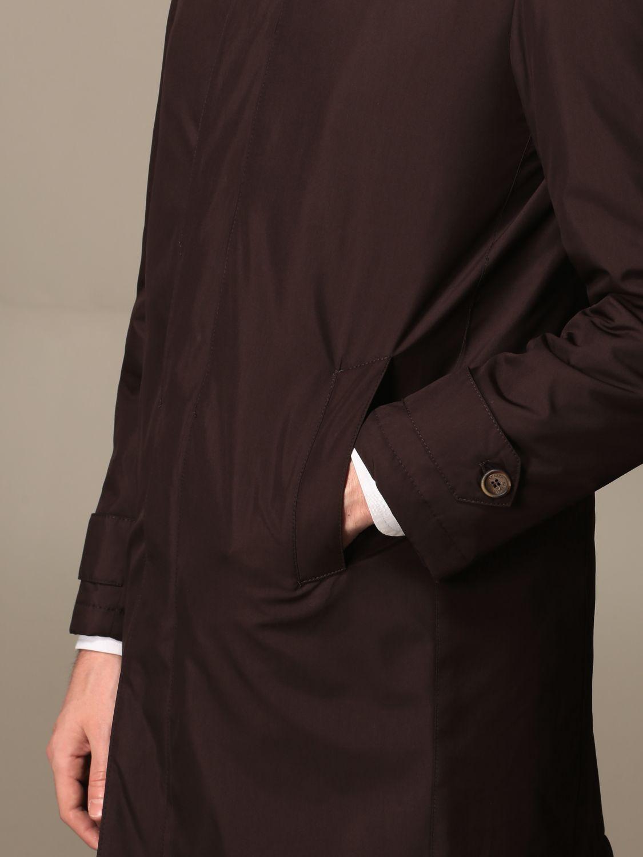 Cappotto Havana & Co.: Cappotto di nylon Havana & Co. marrone 3