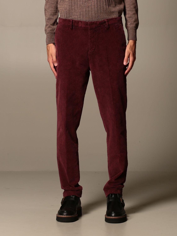 Pantalone Havana & Co.: Pantalone Havana & Co. a costine bordeaux 1