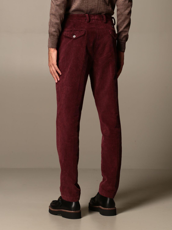 Pantalone Havana & Co.: Pantalone Havana & Co. a costine bordeaux 2