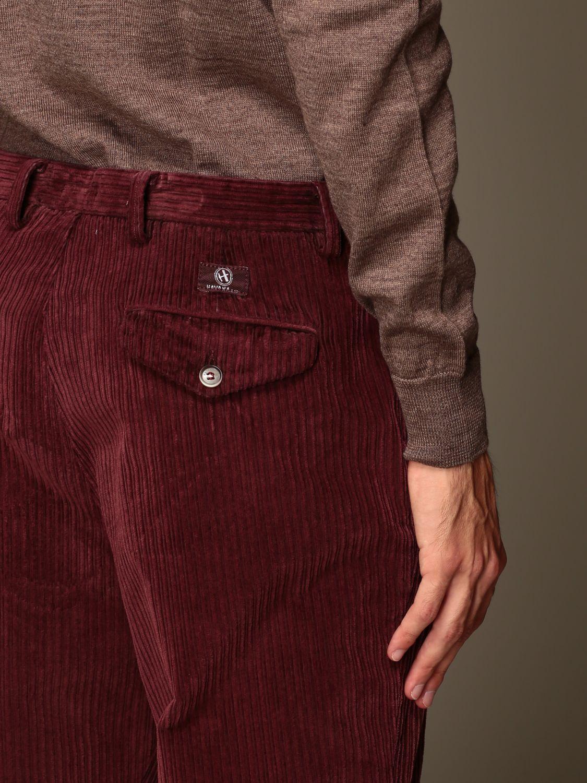 Pantalone Havana & Co.: Pantalone Havana & Co. a costine bordeaux 3