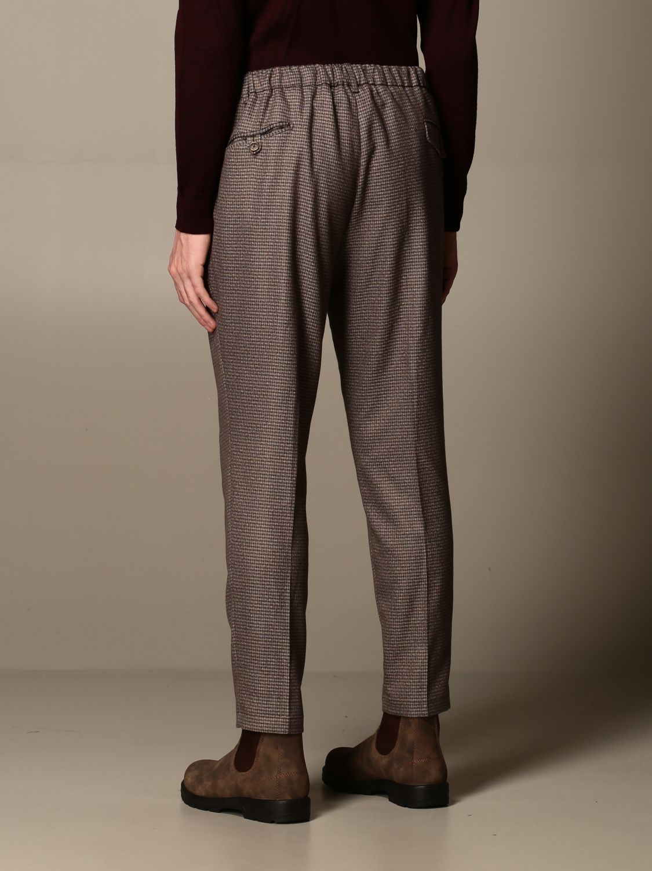 Pantalone Havana & Co.: Pantalone Havana & Co. a micro fantasia marrone 2