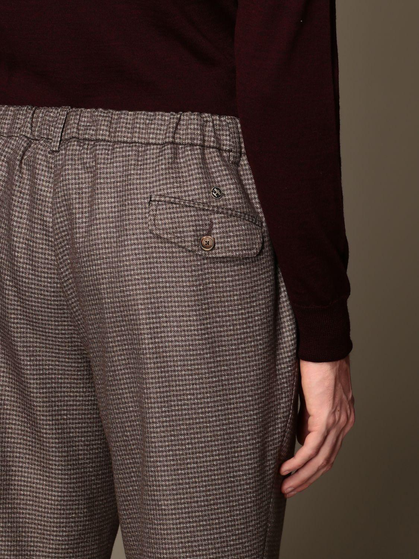 Pantalone Havana & Co.: Pantalone Havana & Co. a micro fantasia marrone 3