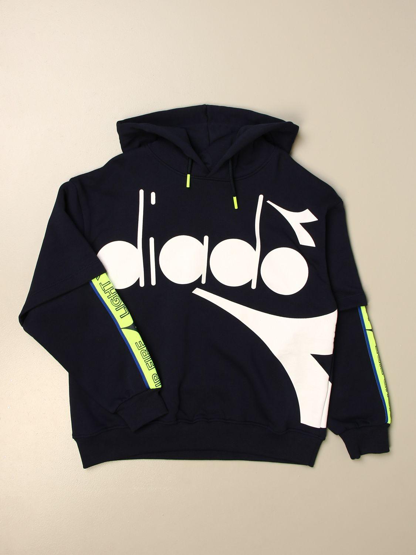毛衣 Diadora: 毛衣 儿童 Diadora 蓝色 1