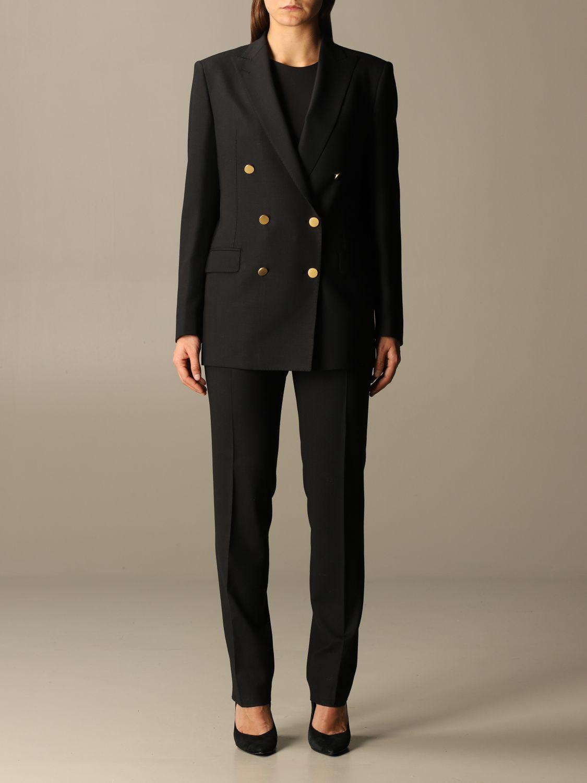 Anzug Tagliatore: Anzug damen Tagliatore schwarz 1