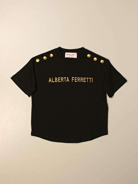 Camisetas Alberta Ferretti Junior: Camisetas niños Alberta Ferretti Junior negro 1