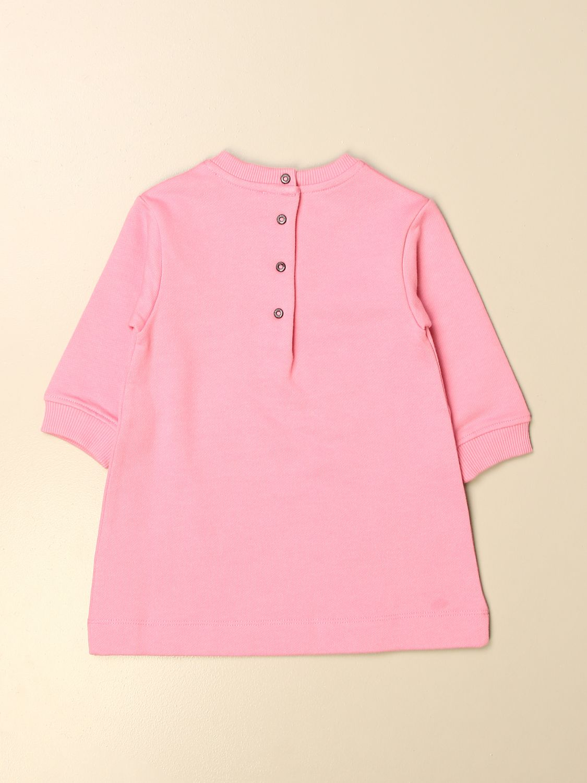 Pelele Balmain: Vestido niños Balmain rosa 2