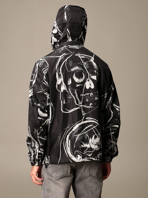 Jacket Alexander Mcqueen: Alexander McQueen jacket with all over skulls black 3