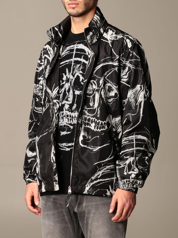 Jacket Alexander Mcqueen: Alexander McQueen jacket with all over skulls black 4