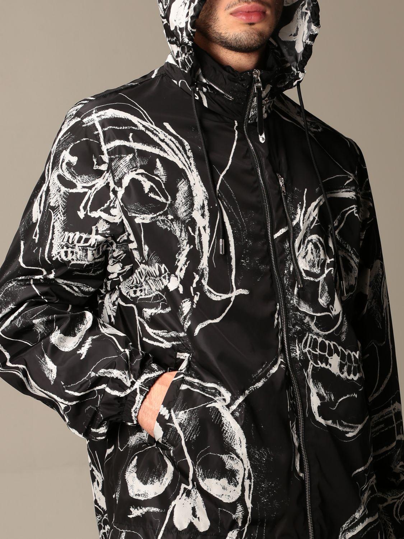 Jacket Alexander Mcqueen: Alexander McQueen jacket with all over skulls black 5